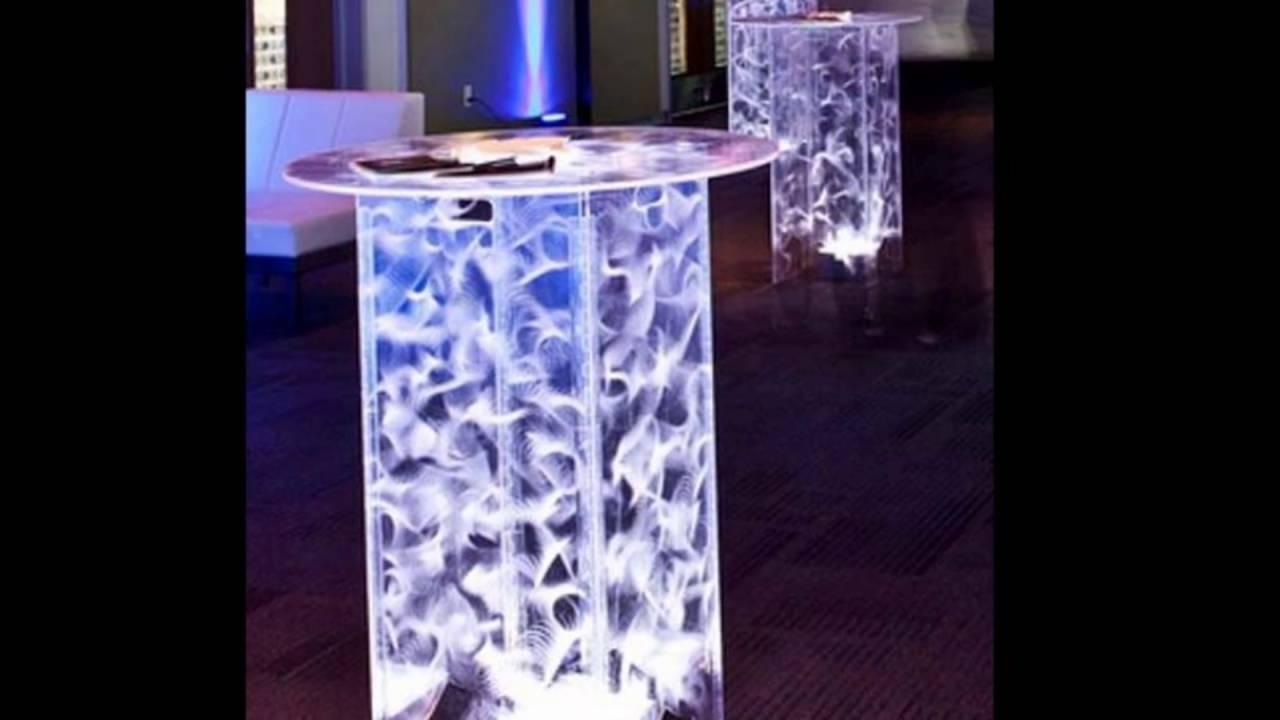 Acrylic cocktail tables FOKCZUB