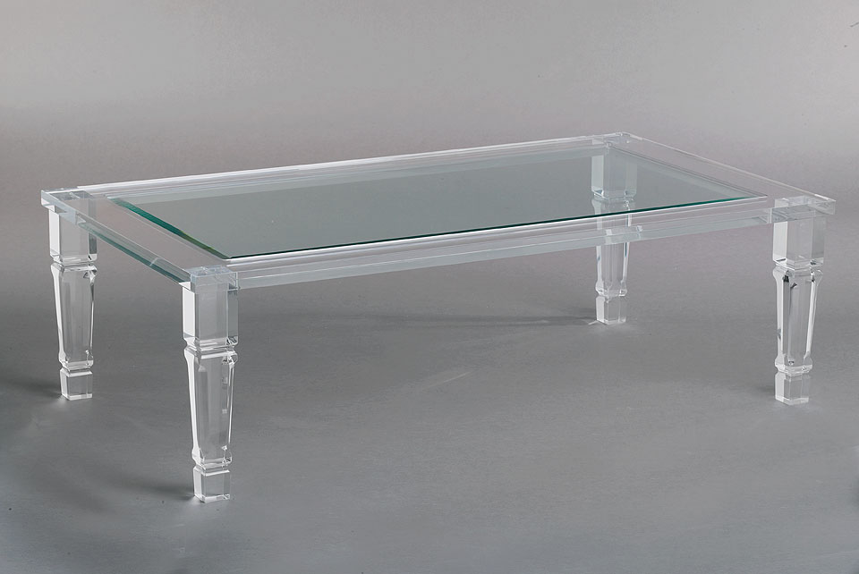 Acrylic cocktail tables Philippe Acrylic cocktail tables SQSQDWN