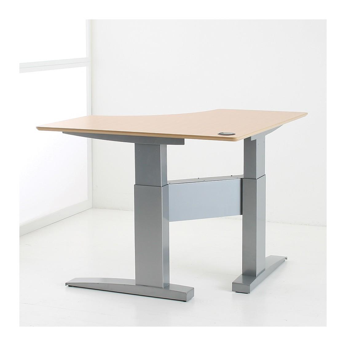 ad111a height adjustable corner desk ... NPTUBEK