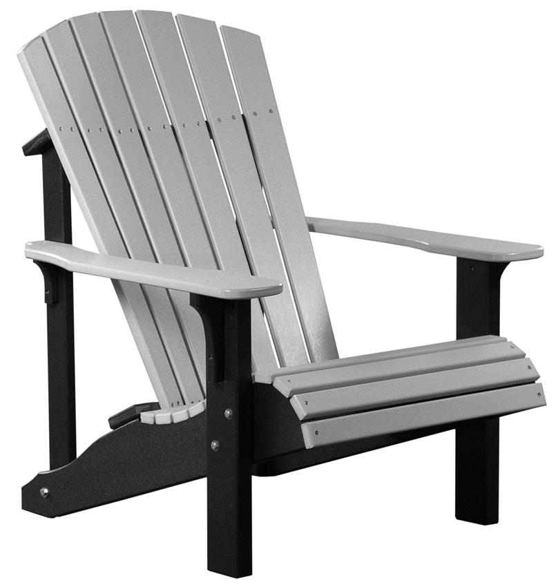 Adirondack Chair Luxcraft Deluxe Adirondack Poly Chair SHXOKXY