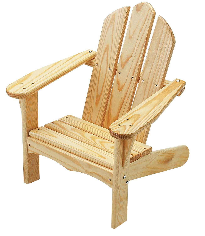 Adirondack Chairs amazon.com: Little Colorado Childu0027s Adirondack Chair - Unfinished: Toys & Games HTBKLOE