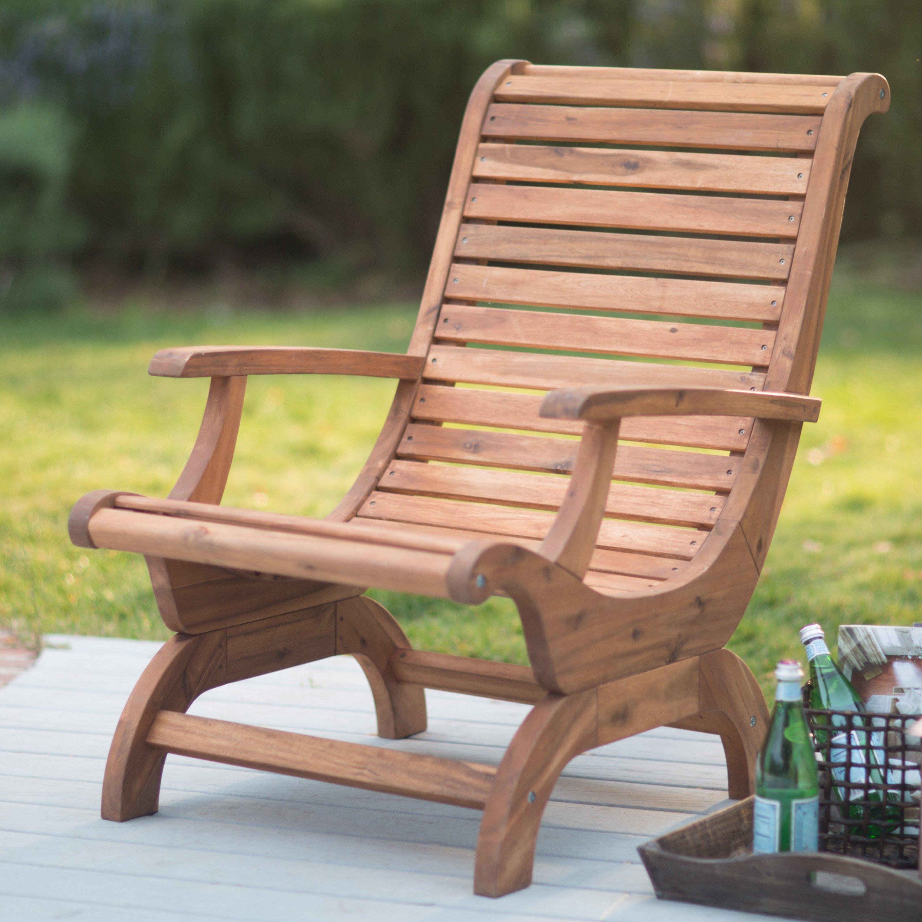 adirondack chairs belham living avondale adirondack chair - natural    Hayneedle GSQBPXD