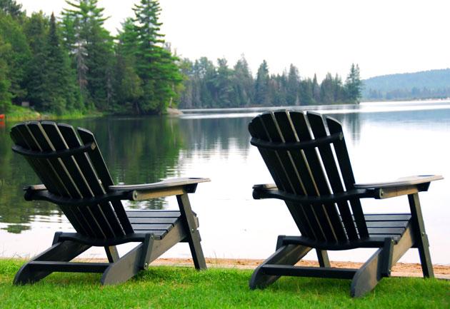 adirondack chairs of water QGDMTLI