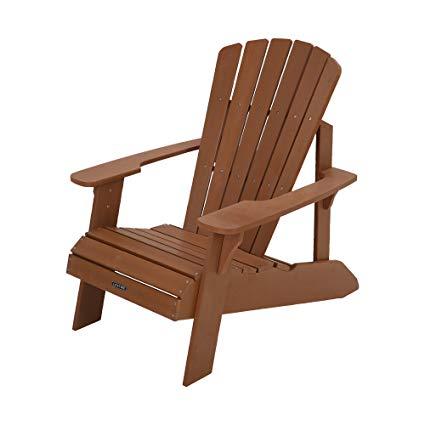 Adirondack chairs Lifetime synthetic wood Adirondack chair, light brown - 60064 AHHJMBN