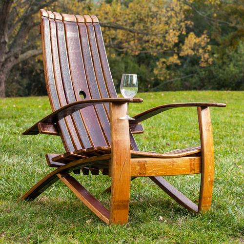 Adirondack chairs wine barrel Adirondack chair IVRBPFN