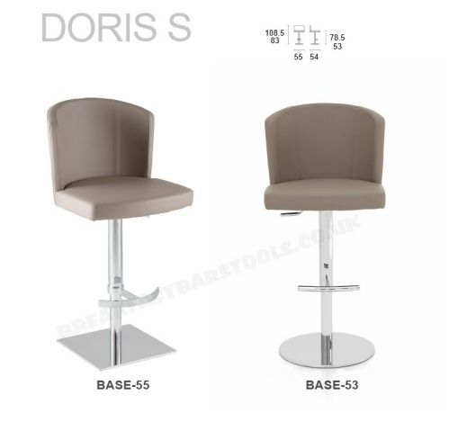 adjustable bar stool 20 colors real leather breakfast bar stool VFUYZFK