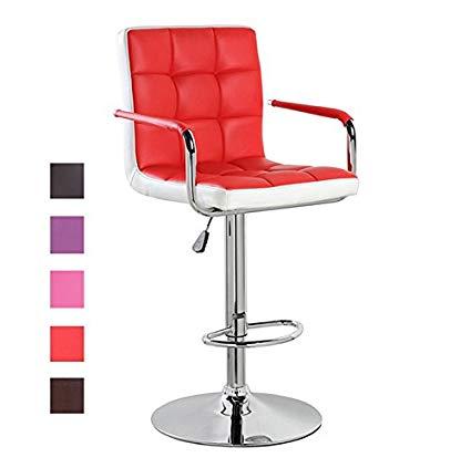 adjustable bar stool with back and armrests modern leather modern swivel height adjustable bar stool with back and FWLESVL