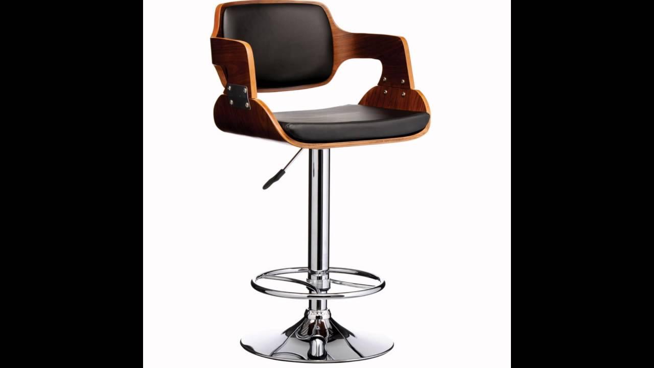 adjustable bar stool with back and armrests UAKJAUR