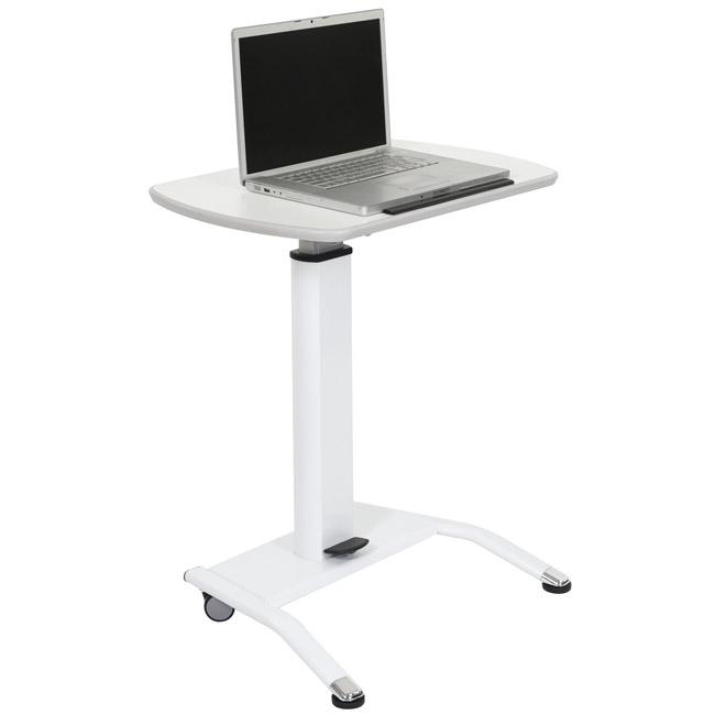 adjustable desk lx-pnadj-wh-pneumatic-height-adjustable-desk URQODSO