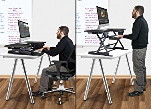 adjustable desk makes standing a part of your working day TDZBHZY