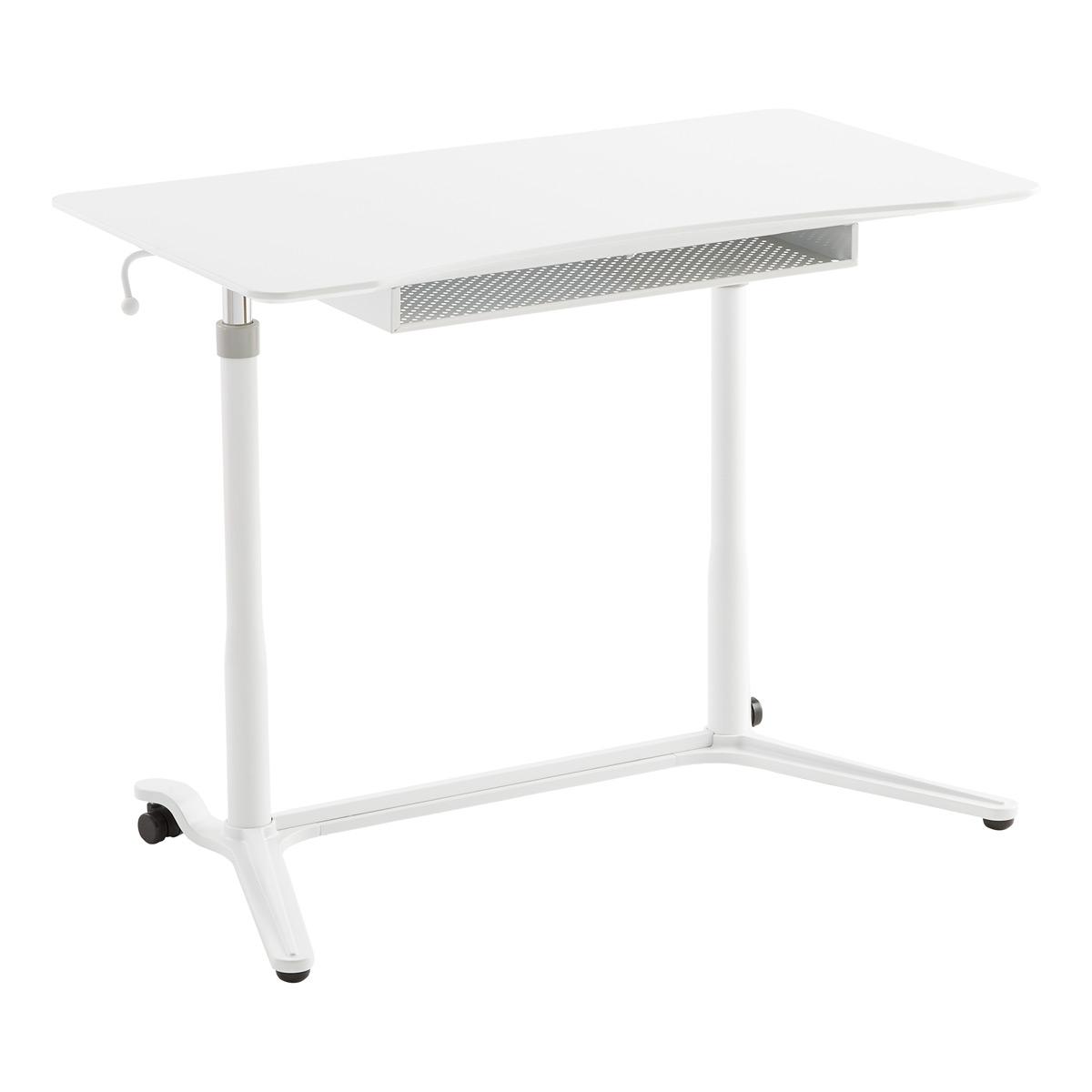 adjustable desk white large adjustable standing desk GIRLTEU
