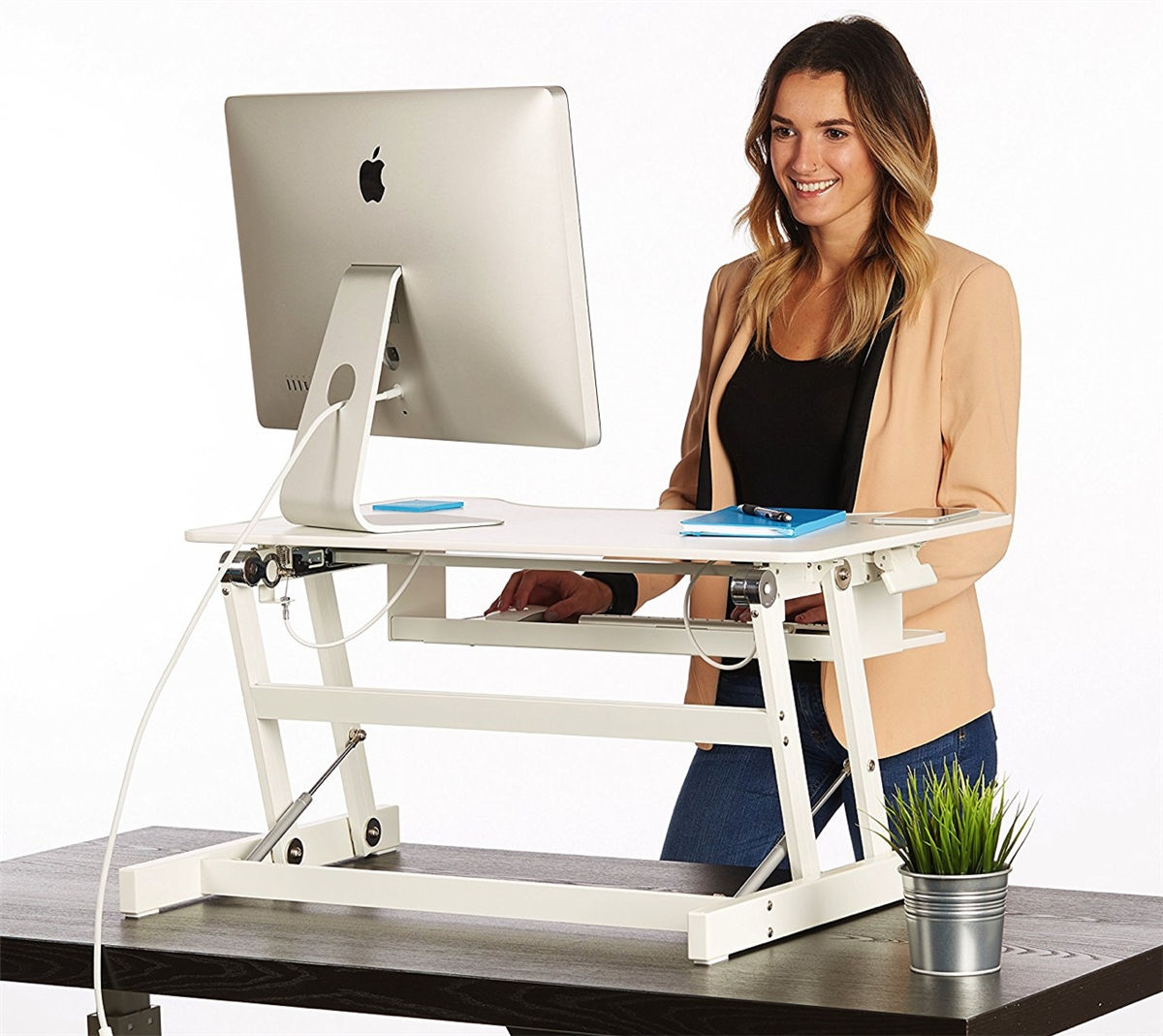 adjustable standing desk alternative views: OSTPCKP