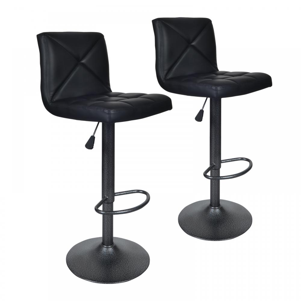 adjustable swivel bar stool with back 2 leatherette modern adjustable swivel bar stool hydraulic chair bar stool AIOUYXE