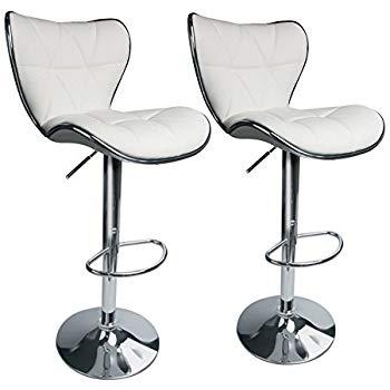 adjustable swivel bar stool with back leopard shell back adjustable swivel bar stool, synthetic leather upholstered with back, set QVWEIZU