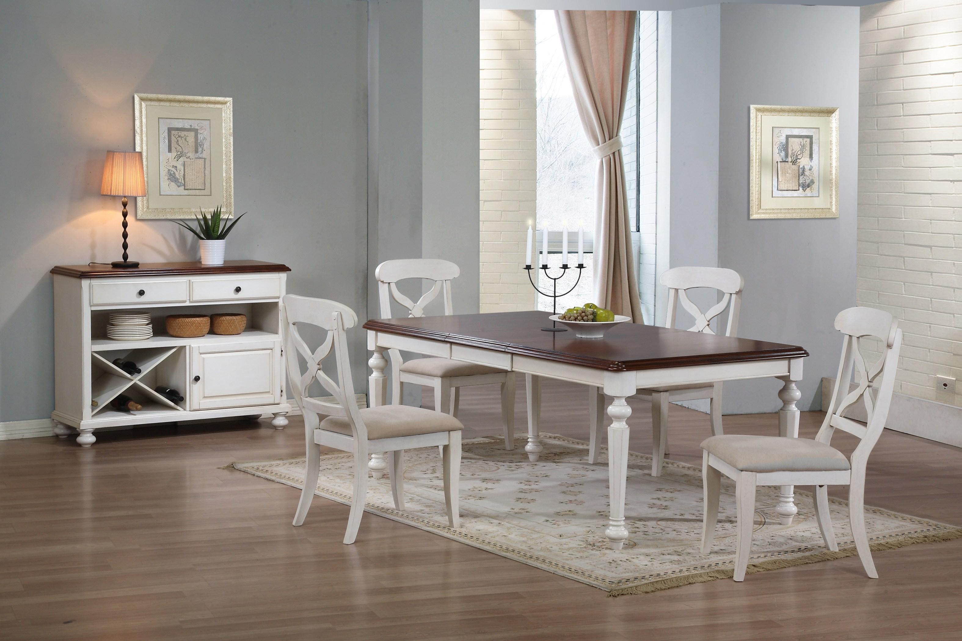 Inexpensive chic white dining table - furnitureanddecors.com/decor YSTEJPOJ