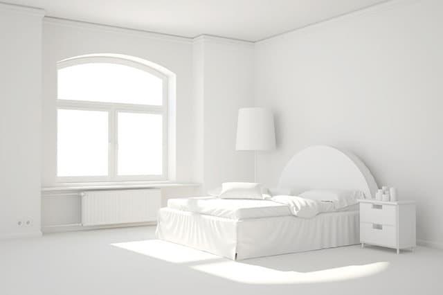 all white rooms minimal white bedroom TTRQFUE