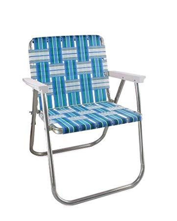 amazon.com: deck chair USA aluminum loom (picnic chair, sea island DPENOHF