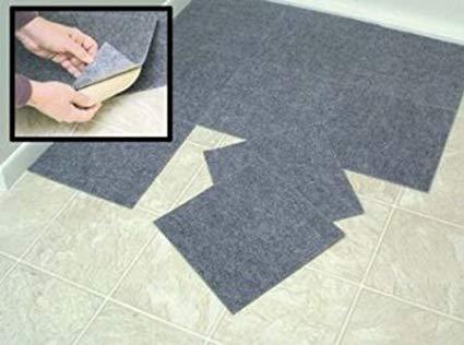 amazon.com: Peel & Stick Berber Carpet Tiles Set of 10 gray by TZEGSFL