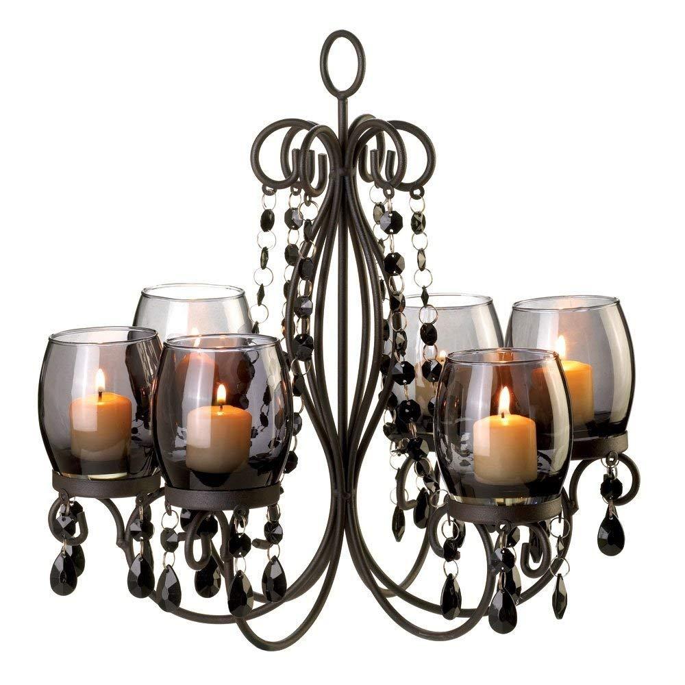 amazon.com: Kale Gift Midnight Elegance Candlesticks: Home & Kitchen CUVGGJY