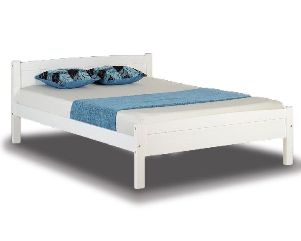 ambrose white double bed frame TAMSDKE