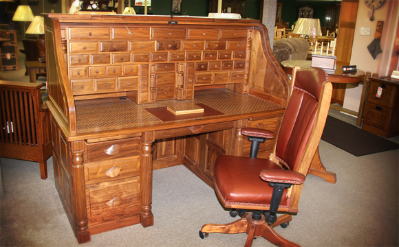 Amish Furniture Presidentu0027s desk NESUHSS