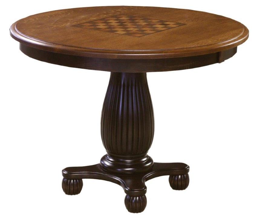 Amish handcrafted Allendale gaming table ANBROLK