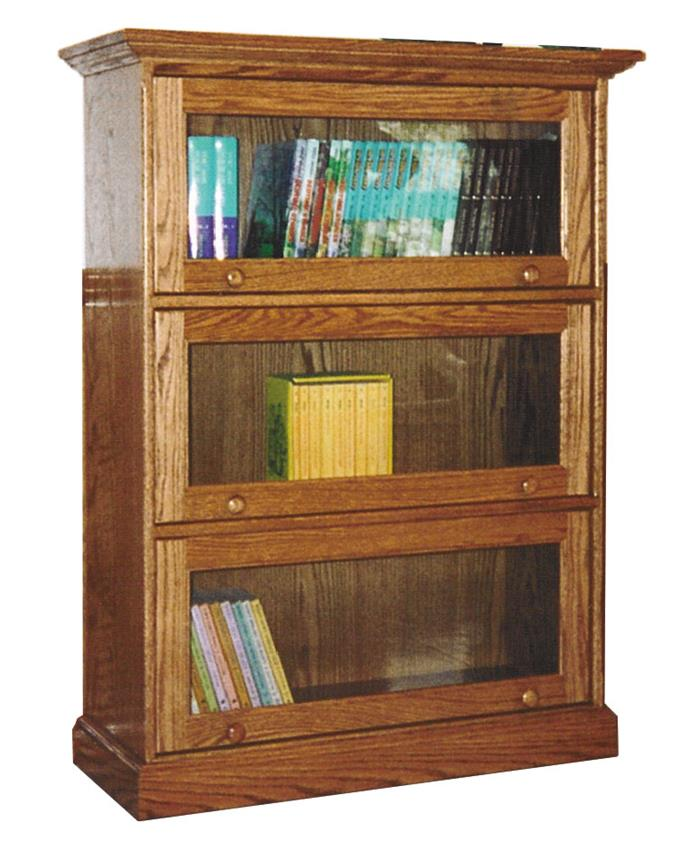 Amish traditional barrister bookcase XHRNJOX