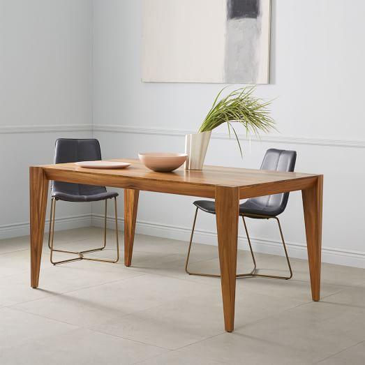 anderson dining table made of solid wood - caramel DNPSZAV