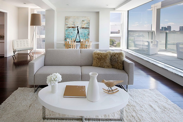 Apartment furniture 423 West Street Apartment by quadra Furniture & Rooms WYDXXKR