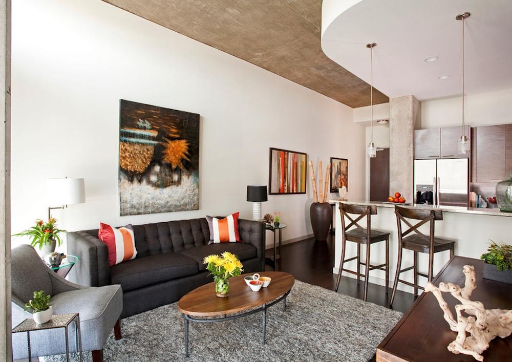 Apartment living room design small apartment decor GFCYPIK