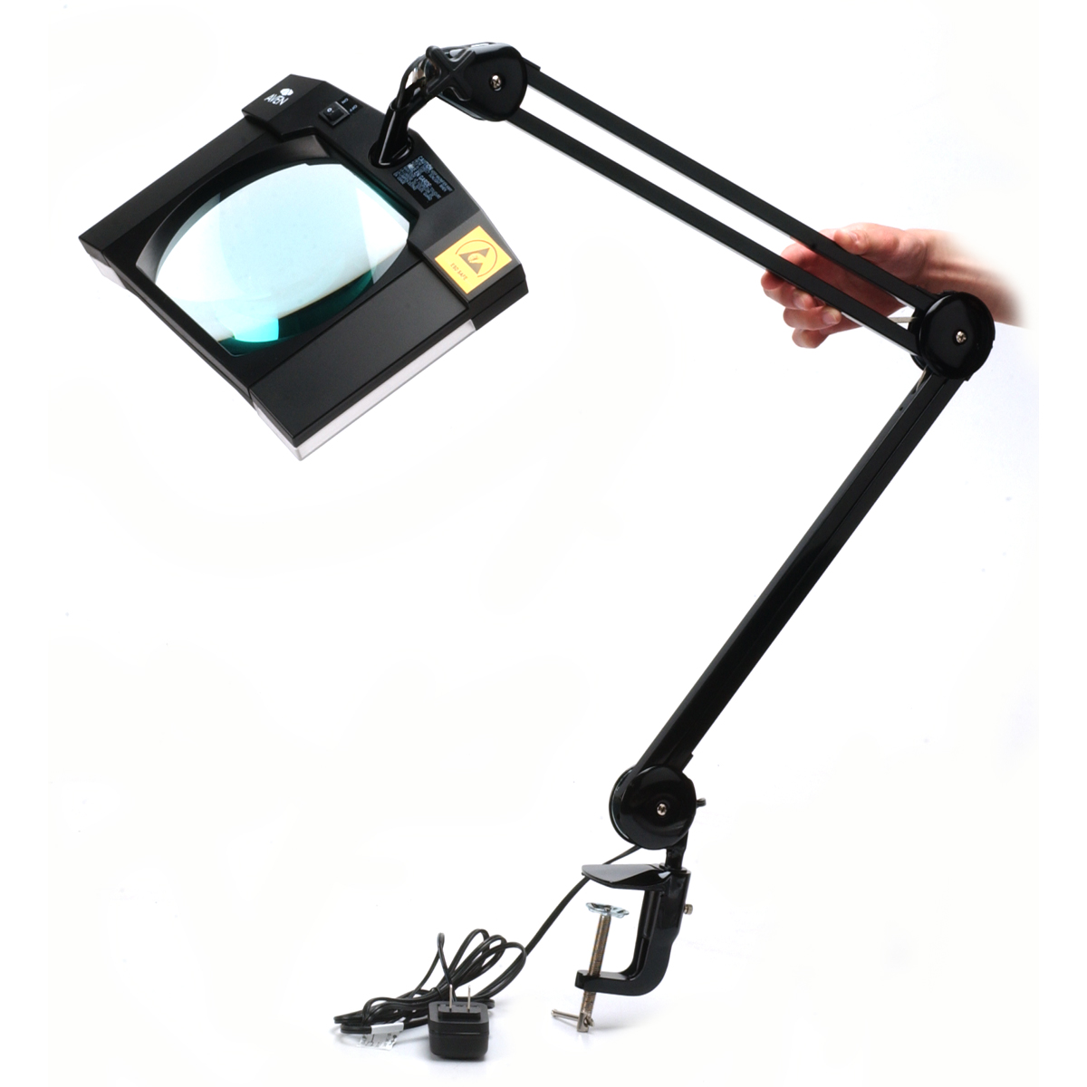 Aven Mighty Vue LED Magnifying Lamp QCPHCZO