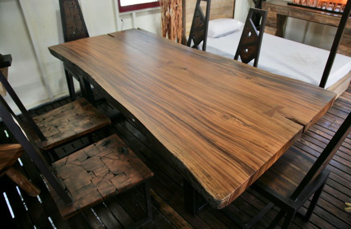 Great dining table made of solid wood Other great dining tables made of solid wood FSCDQZW
