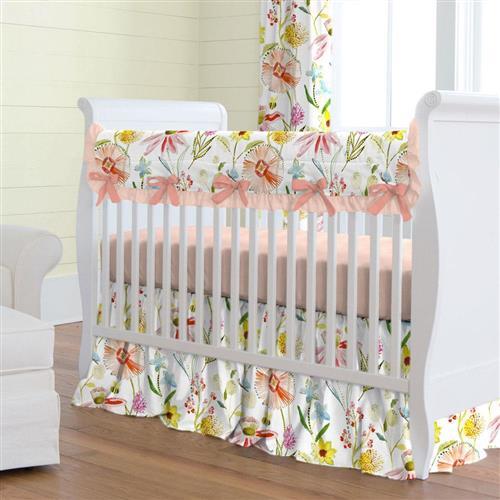 Baby bedding sets ... spring-like flower bedding BFHKEMK