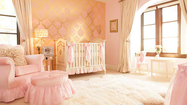 15 cute baby bedroom designs for your princess |  Home design DPBVQEH