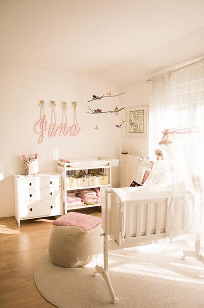 Baby Girl Bedroom Baby Girl Room Idea - Shutterfly QVDQNEE