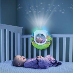 Baby Night Light Projector with Music Baby Toddler Newborn Soothing Lullaby Sound Sleep Music Player Projector Night GJMRSTI