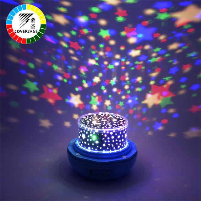 Baby Night Light Projector with Music Cover Rotating Night Light Projector Star Moon Master Baby Children Sleep VYVBTQN