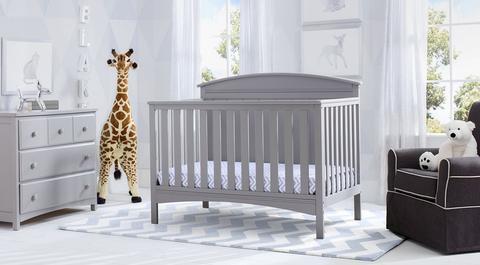 Children's room furniture sets archer - gray BHUKZYZ