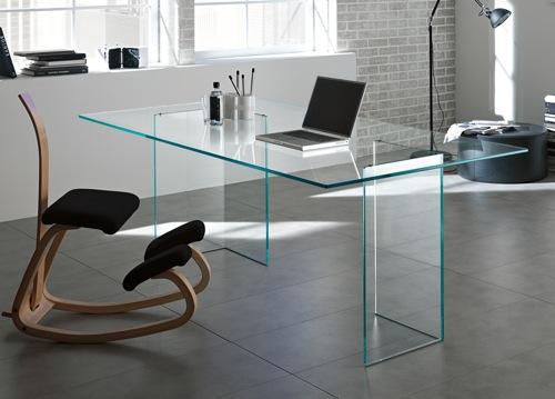 Bacco glass desk NEXSRQG