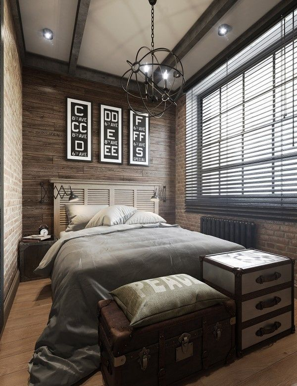 15 Masculine Bachelor Bedroom Ideas    Luxury master bedroom.