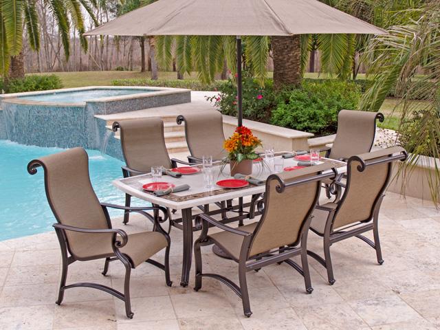 Garden furniture aluminum CWQHOOW