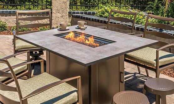 Backyard furniture Fireplace collections AZANYCT