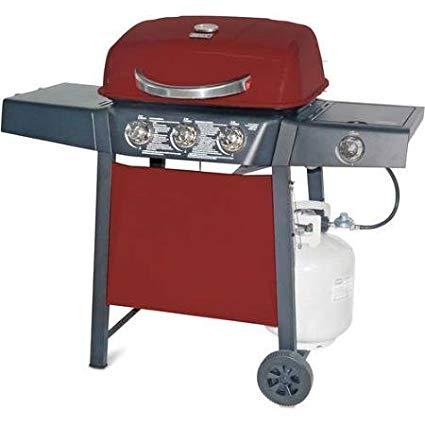 Garden grill 3-burner gas grill with side burner YKYAEFG