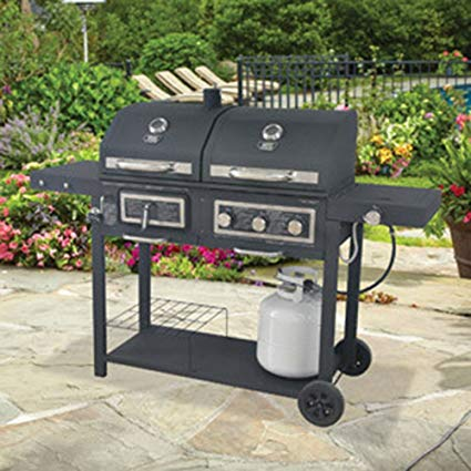 Garden grill gas / charcoal grill IVMCHXT