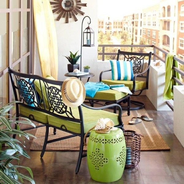 Balcony furniture - build balcony furniture yourself - garden furniture set XDYCOUW