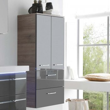 balto wall-hung bathroom cabinet 2 doors 2 drawers YTCSAHB
