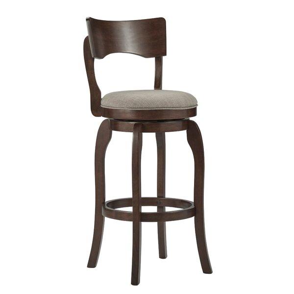 Bar stool with backrest Bar stool with full backrest youu0027ll love    Wayfair VOOXHCA