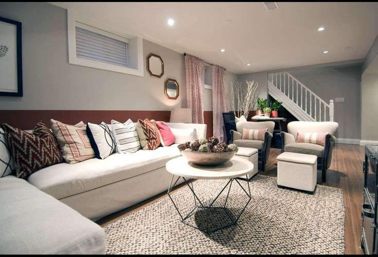Basement living room ideas soft colors decorating and amazingly easy