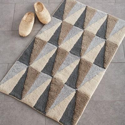 Bathroom rugs Winkel bathroom rugs - neutral |  the company store HBVHJUA