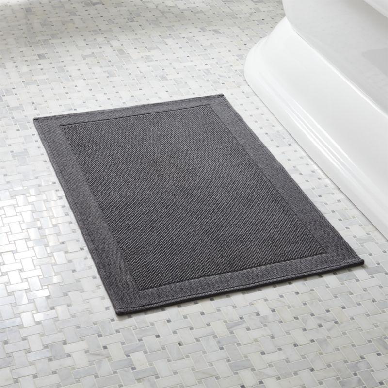 Bath rugs Bath rugs and bath mats |  Crate and barrel MWNRXLA
